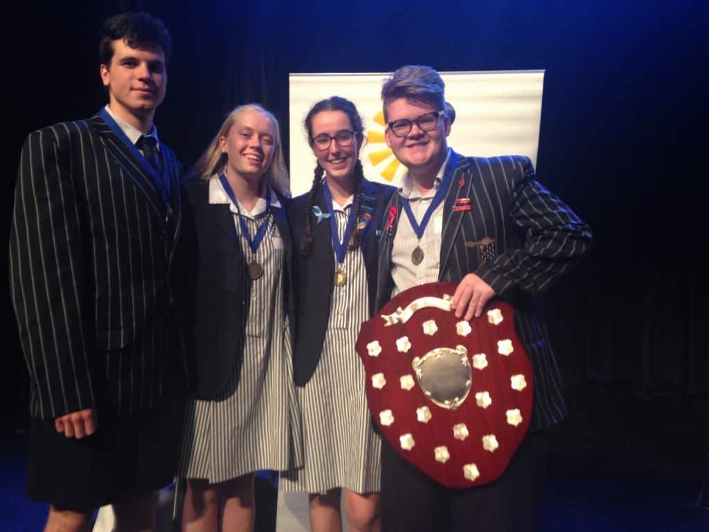Year 12 debaters win Grand Final