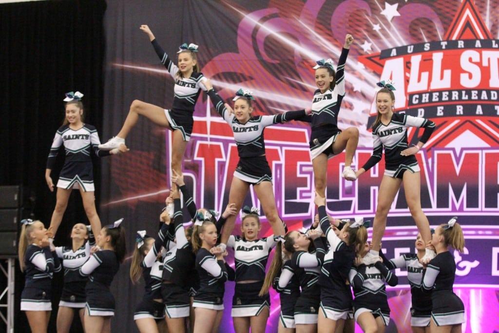 International Success for Cheerleaders