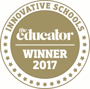 TE Innovative School medal
