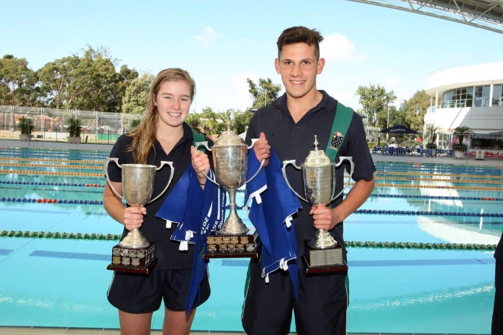 Clean sweep for St Leonard's swimmers