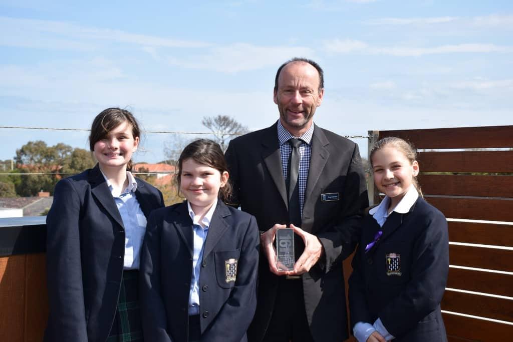 Teacher Excellence Award for Greg