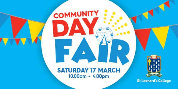 Get ready for Community Day Fair 2018!