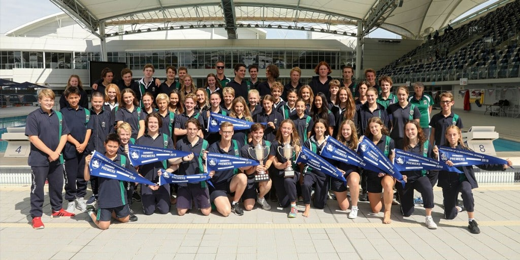 St Leonard's College named ACS Swimming Champions for the fourth consecutive year