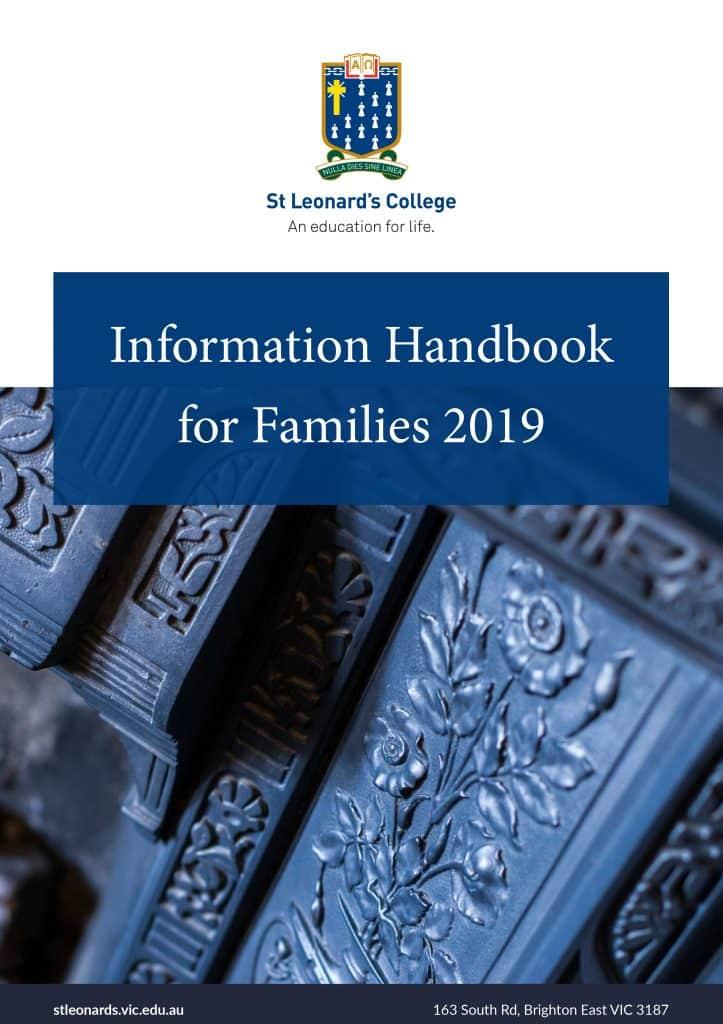 Information Handbook 2019