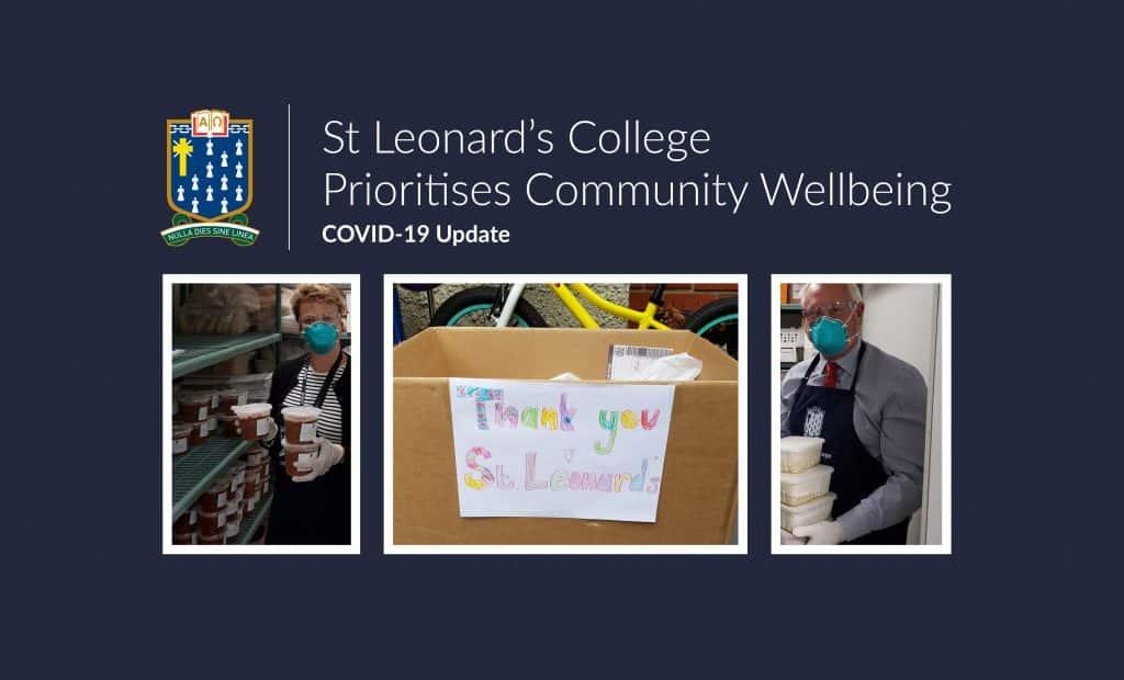 St Leonard's College Prioritises Community Wellbeing