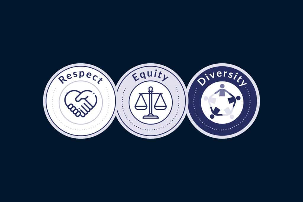 Respect • Equity • Diversity