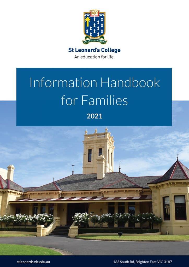 Information Handbook 2021